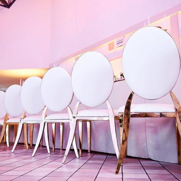 Прокат свадебных стульев